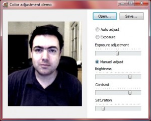 Adjust image demo